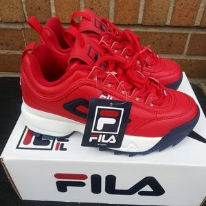 🆕Fila | Disruptor II Sneaker Shoe Big Kids Sz 4Y